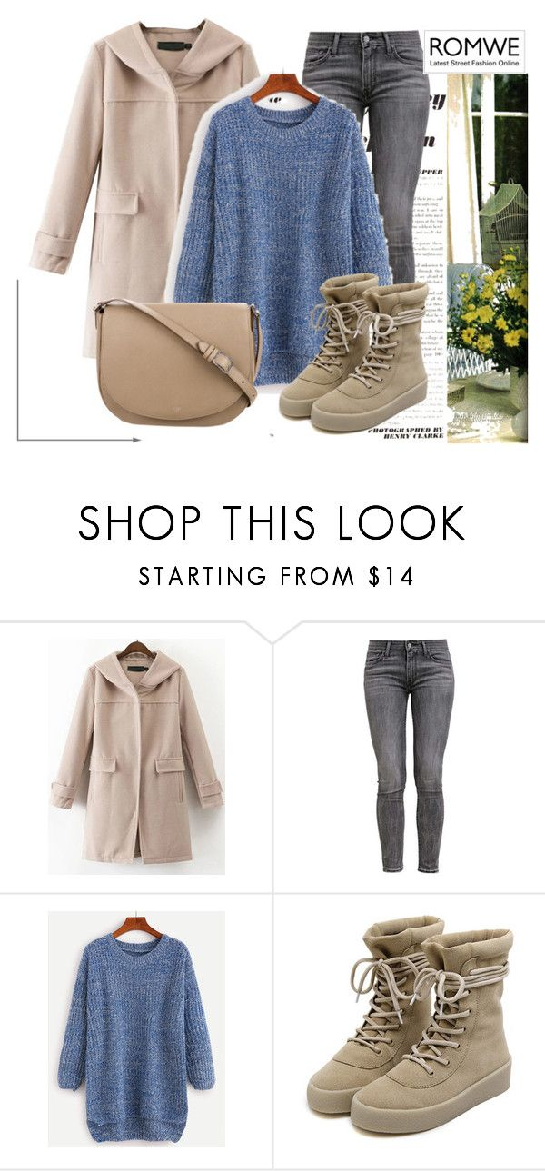 """ROMWE 10"" by aida-1999 ❤ liked on Polyvore featuring Levi's and CÉLINE"