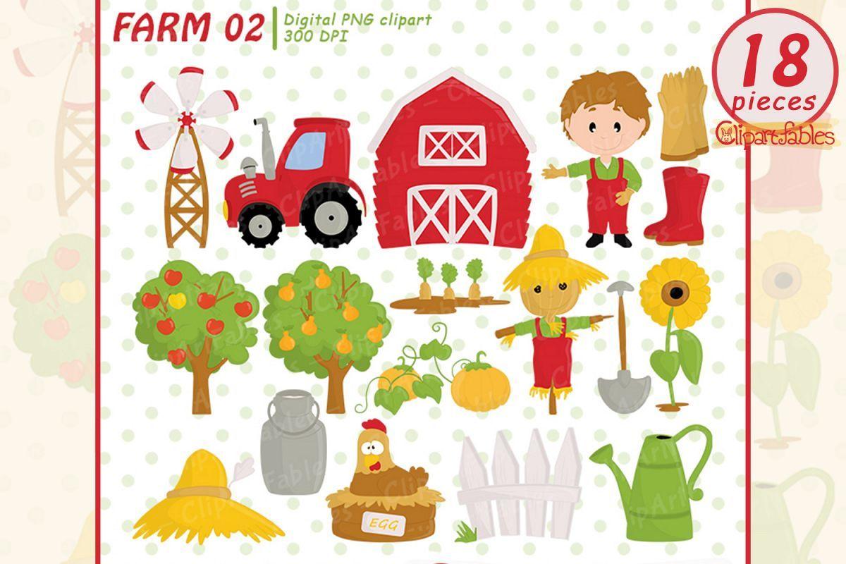 farm clipart barnyard clip art old macdonald had a farm ad barnyard [ 1200 x 800 Pixel ]