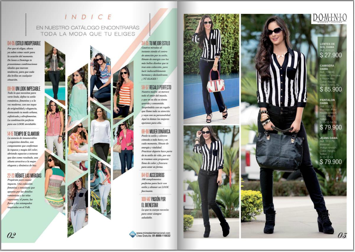 Fashion Magazine Pages Layout Magazine Layouts