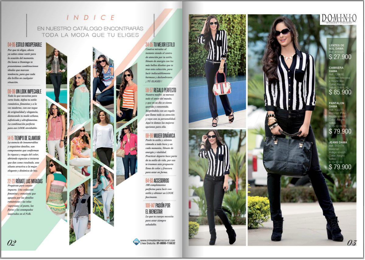 fashion magazine pages layout httpwwwflipsnackcommodain - Yearbook Design Ideas