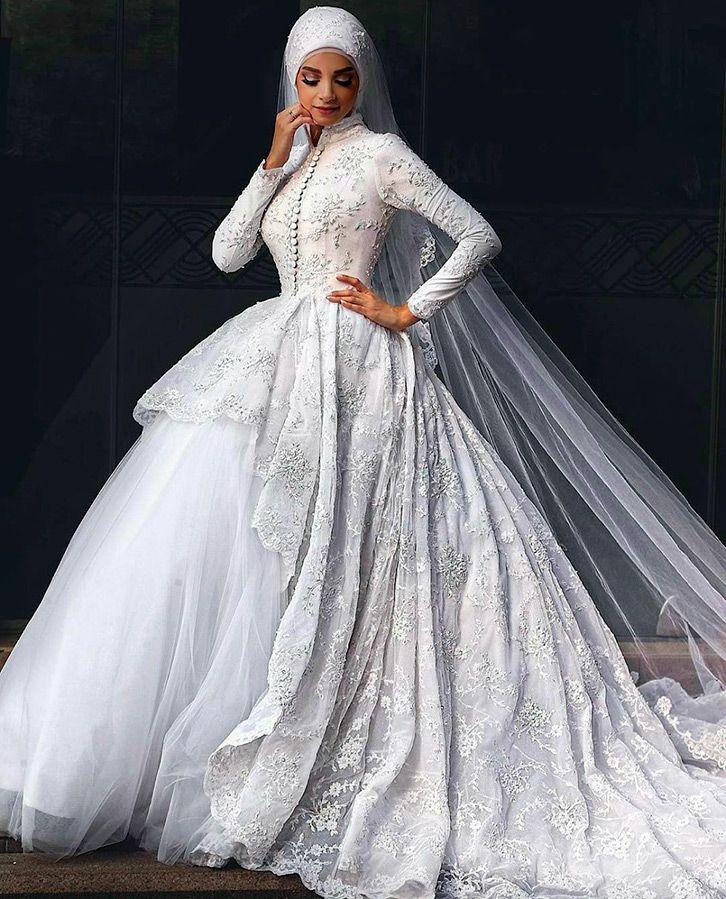 919d776662df674 Свадебное платье для мусульманки | interesting refs | Мусульманские ...