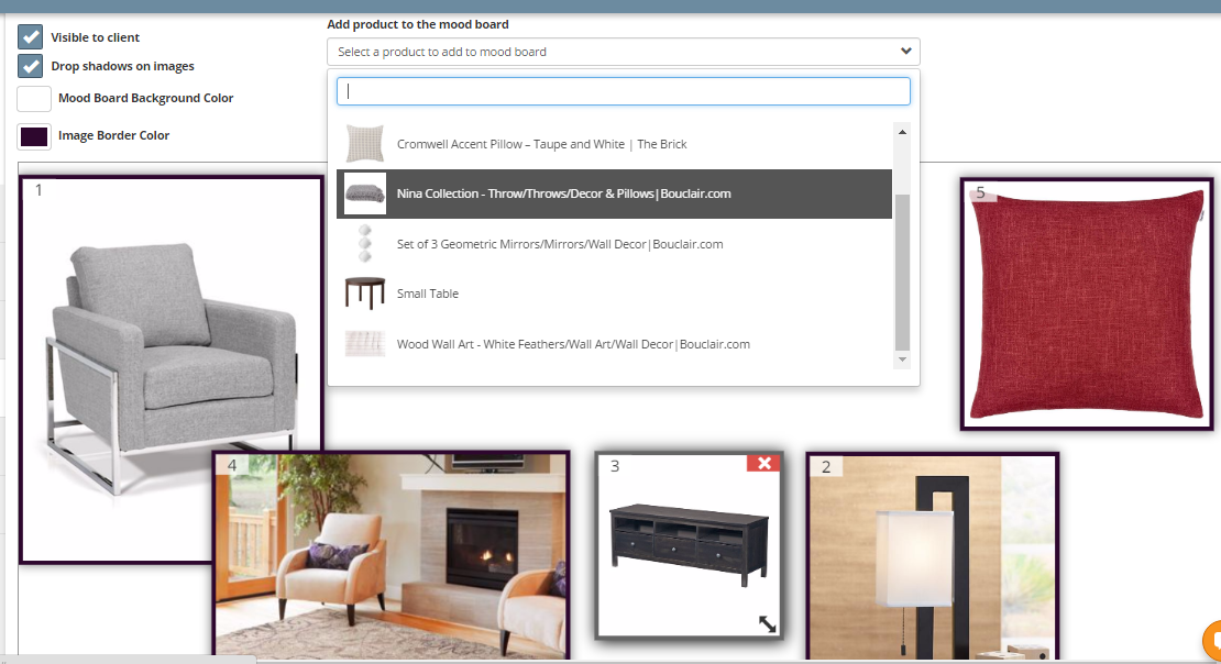 Use Mydoma Studio Software To Create Mood Boards For Your Interior