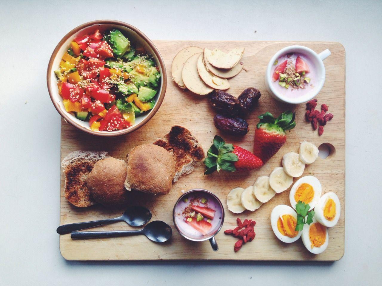 Znalezione obrazy dla zapytania breakfast tumblr
