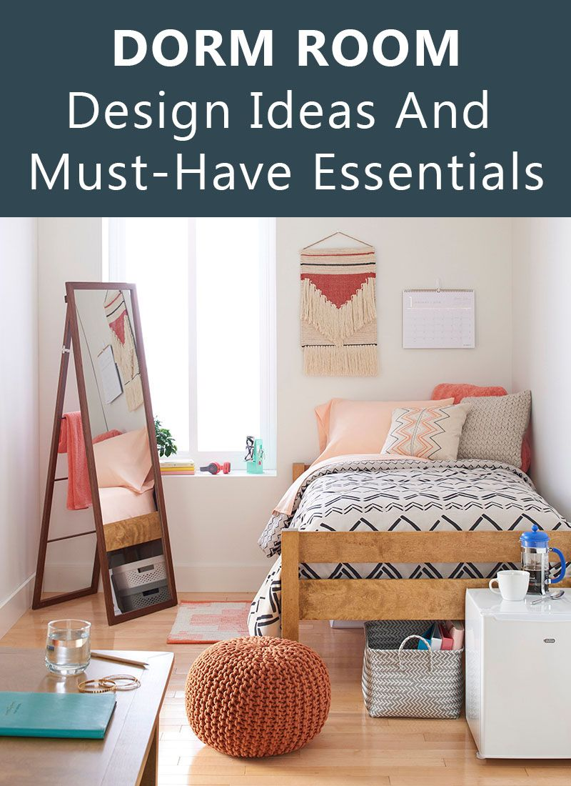 DORM ROOM Design Ideas And Must-Have Essentials