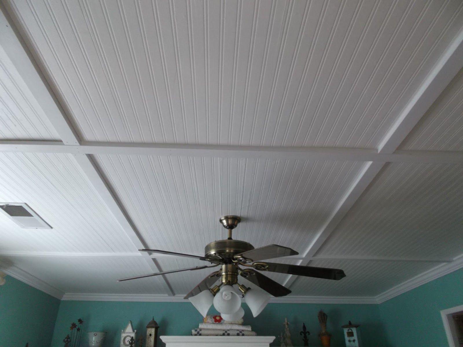 basement ceiling options - Beadboard Ceiling Ideas ...