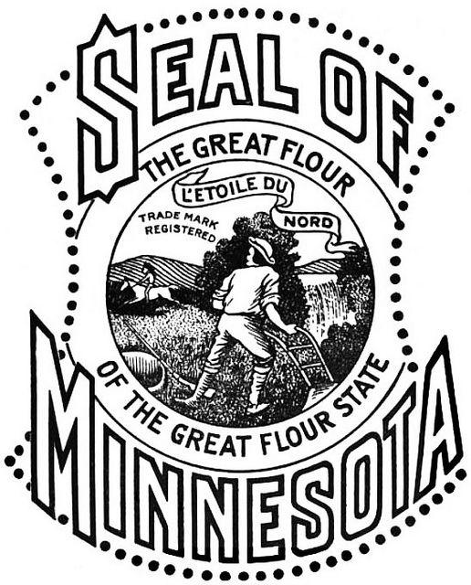 Seal Of Minnesota 1915 Minnesota Lettering Blog Minneapolis Minnesota