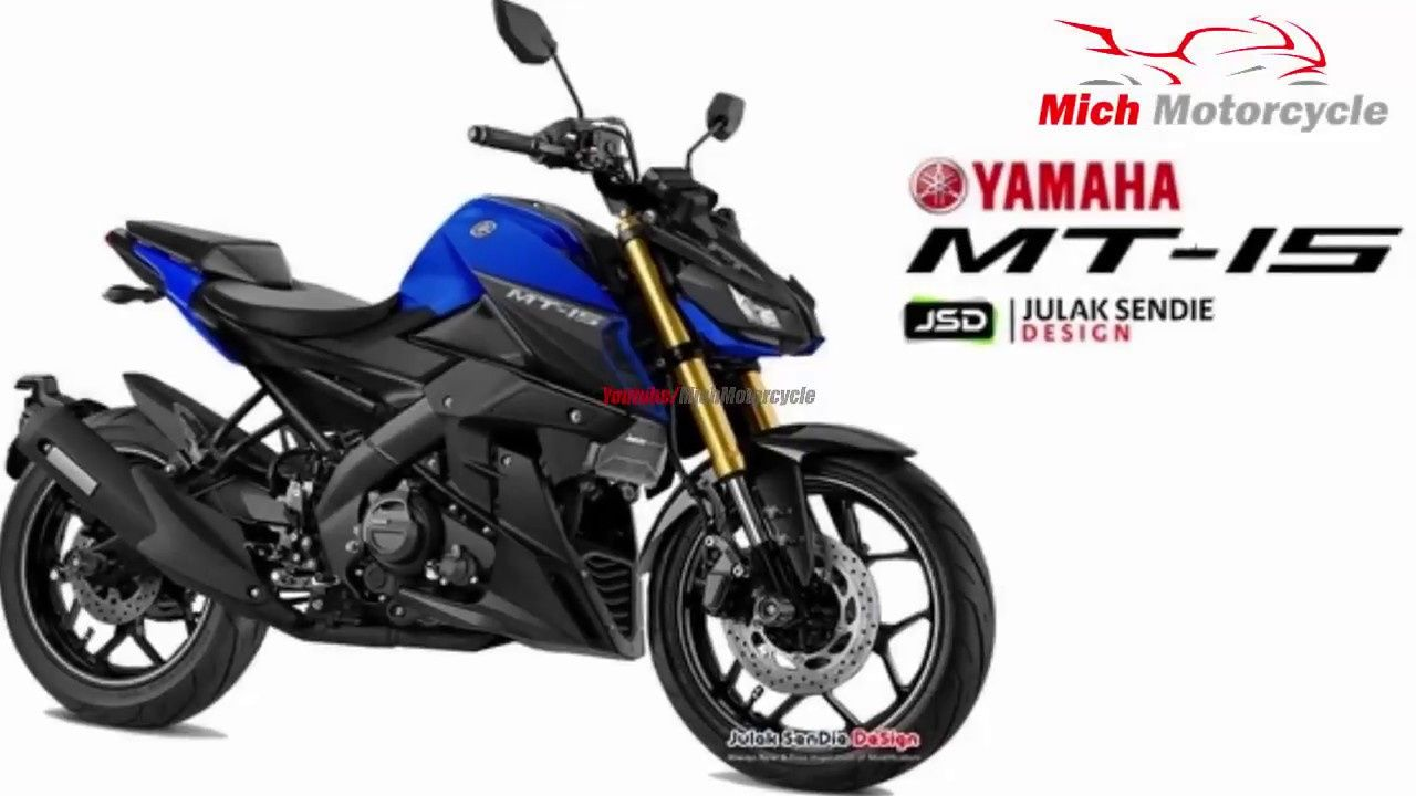 2019 New Yamaha Motorcycles New Concept From All New Yamaha Mt 15