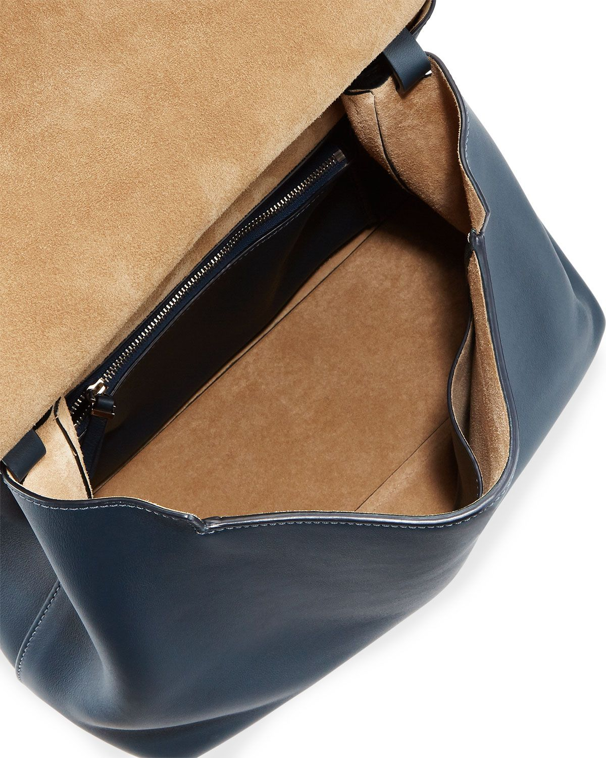 66d27111ef The Row Sidekick Two Leather Shoulder Bag