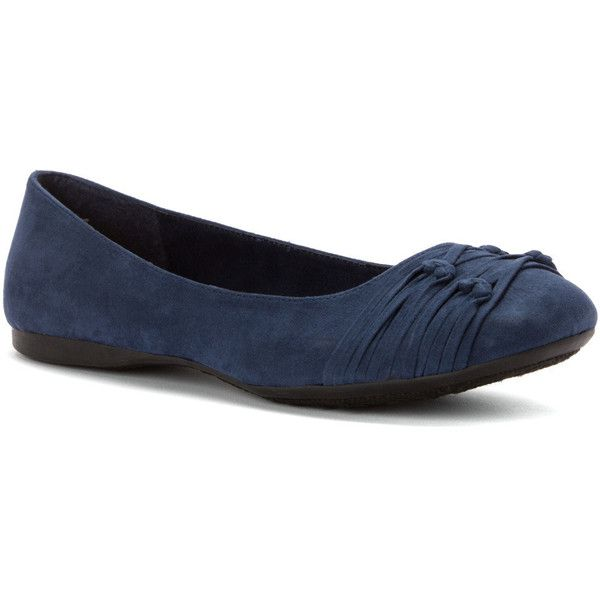 Rocket Dog Women's Richelle Flats ($61) ❤ liked on Polyvore featuring  shoes, flats · Navy Ballet ...