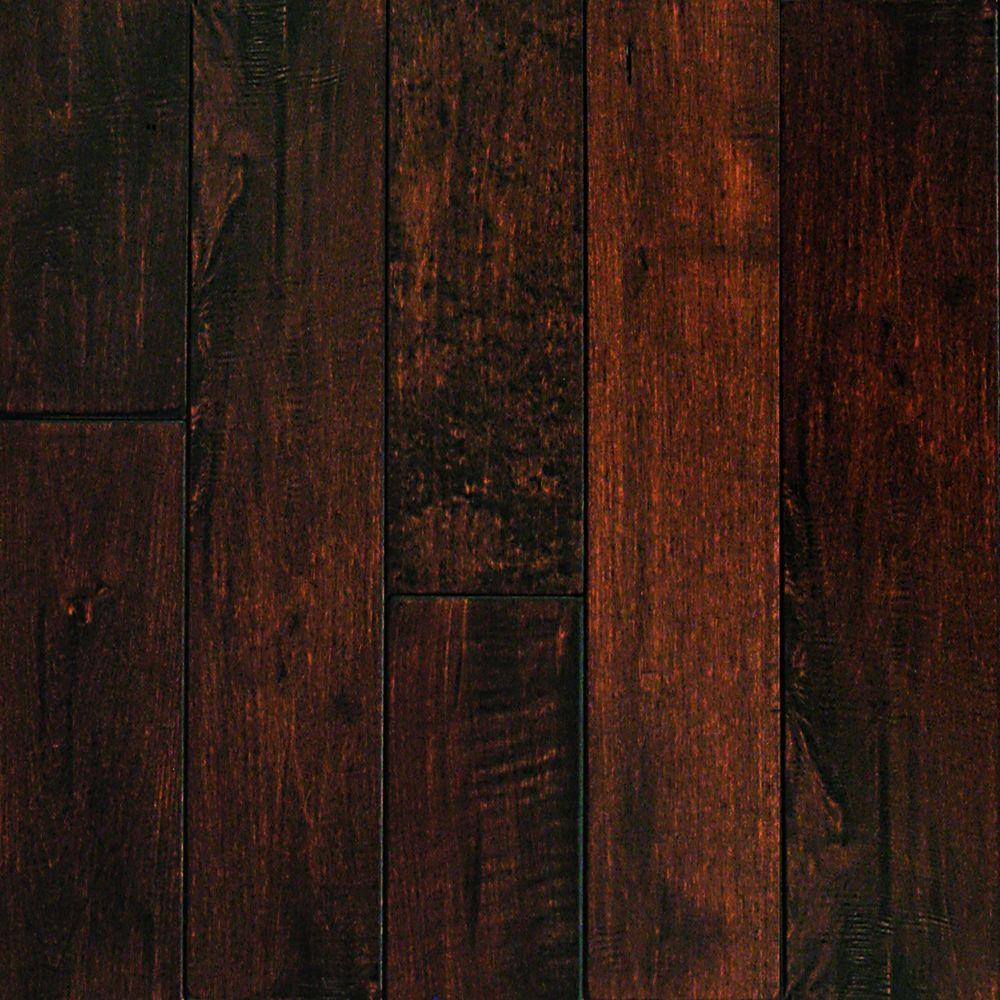 Best Hand Scraped Maple Chocolate Brown 1 2 In Thick X 3 In 400 x 300