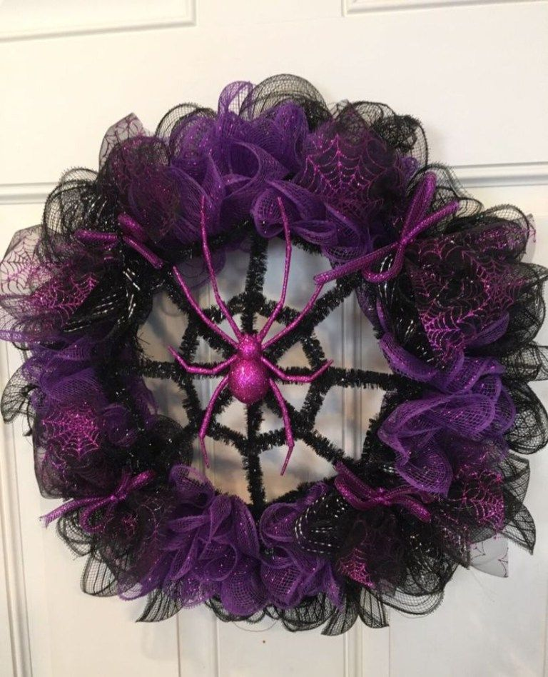 Creative Wreath Ideas: Creative Diy Halloween Wreaths Design Ideas (1
