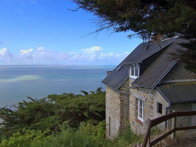 Ferienhaus Normandie mit Meerblick Ferienhaus frankreich