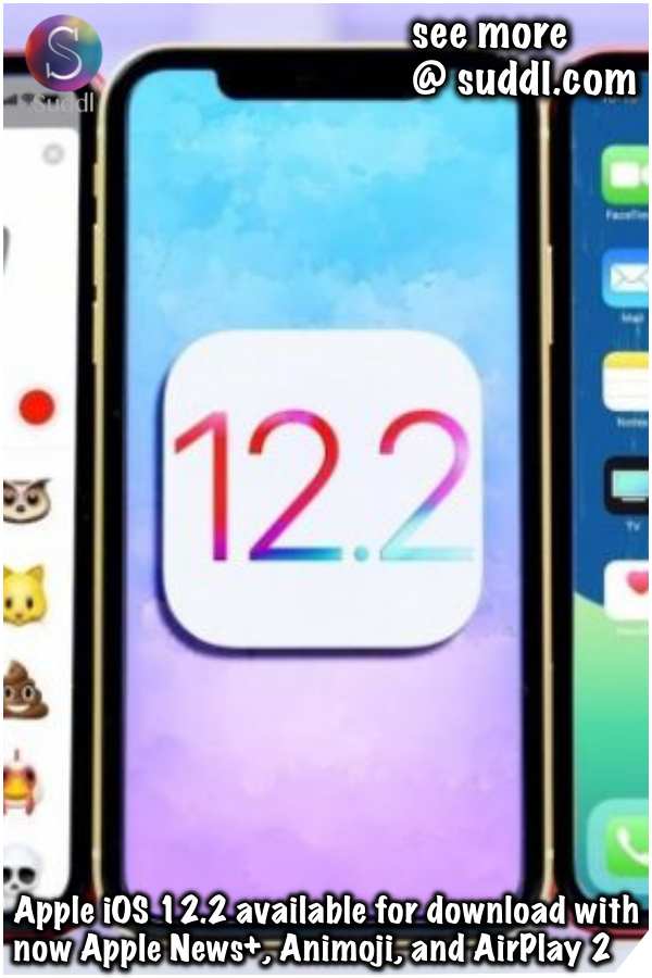 Apple iOS 12 2 available for download with now Apple News+