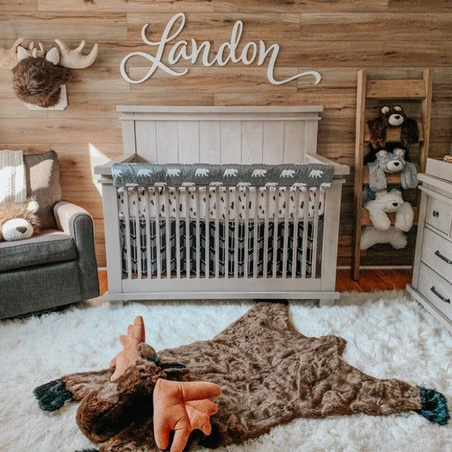 Nursery Name Sign Girl Boy Wooden Letters for Wall