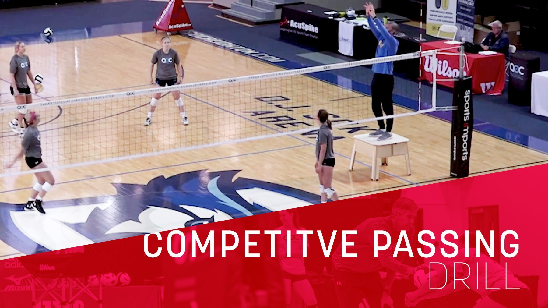 Competitive Passing Drill The Art Of Coaching Volleyball Volleyball Workouts Coaching Volleyball Volleyball Practice