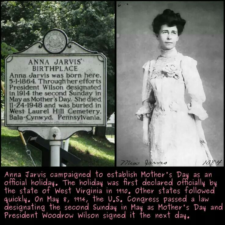 Image result for West Virginia claims to be the birthplace of Mother's Day.