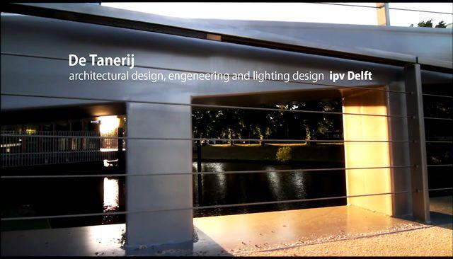 Sfeerimpressie brug De Tanerij, ontwerp ipv Delft by ipv Delft