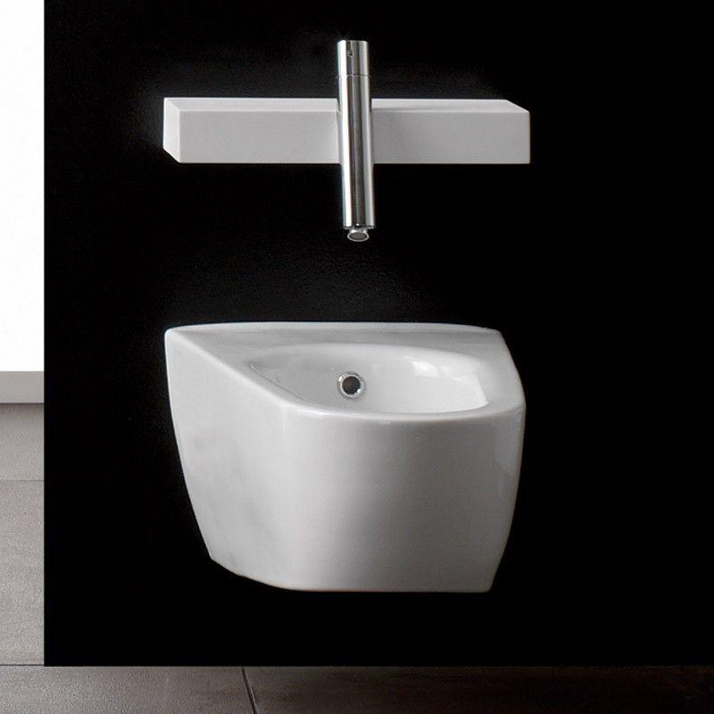 Treemme Wand-Bidet Blok | 6502 | Keramik weiß | Treemme: Blok ...