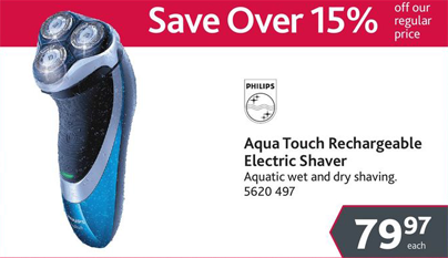 Electric razor deal - only available until June 12th!
