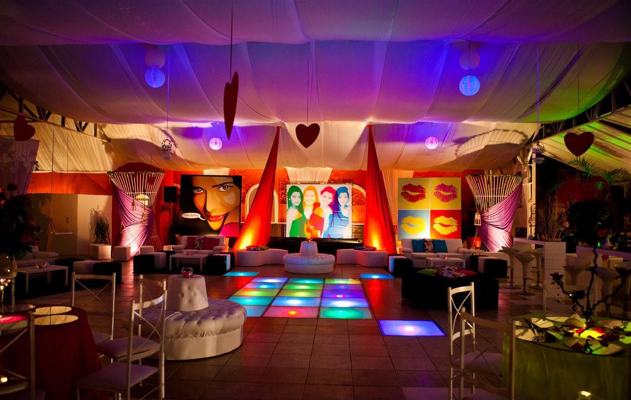 Festa De 15 Anos Ideas: Festa De 15 Anos Totalmente Moderna, Com Tema Boate/noite