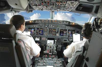 Pilots in cockpit Pilot training, Airplane pilot, Pilot