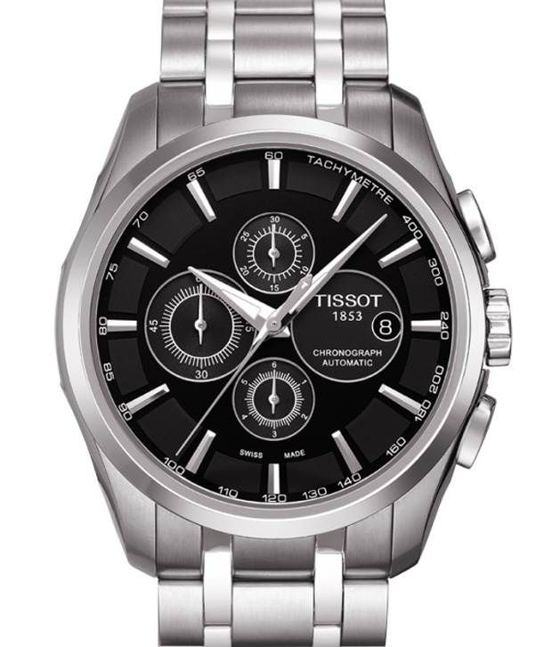 Men s Tissot Couturier Automatic Chronograph Watch T035.627.11.051.00 befaaf703f7
