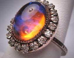 multi color opal yüzük ile ilgili görsel sonucu