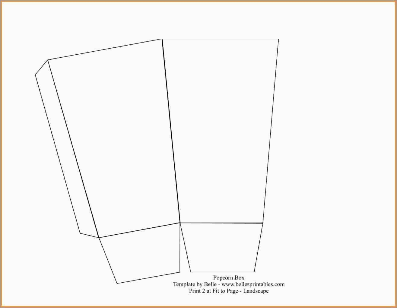28 Avery Labels 18160 Template In 2020 Popcorn Box Template