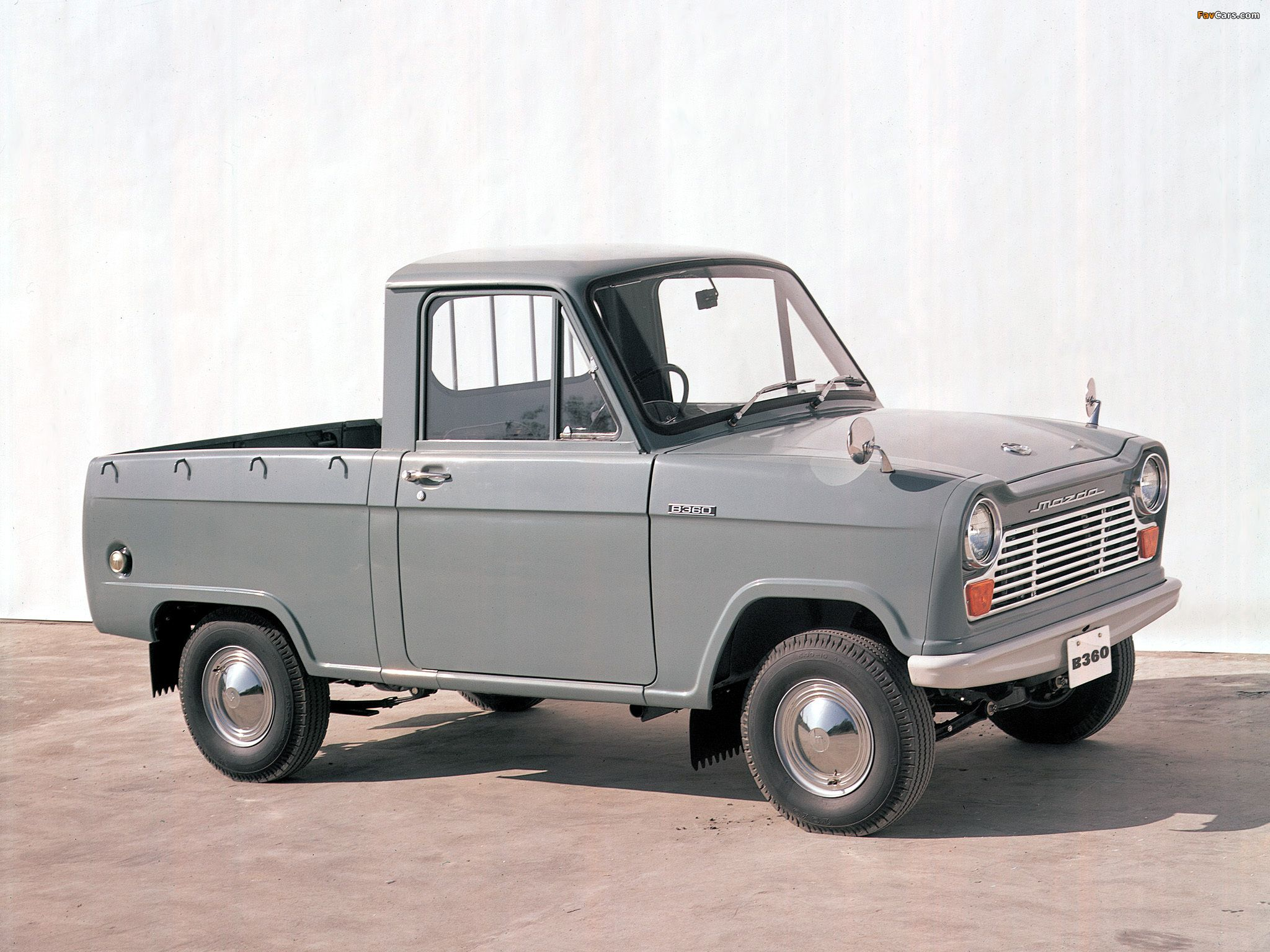 Mazda B360 mid-term (1963/Japan) | pickups and trucks ...