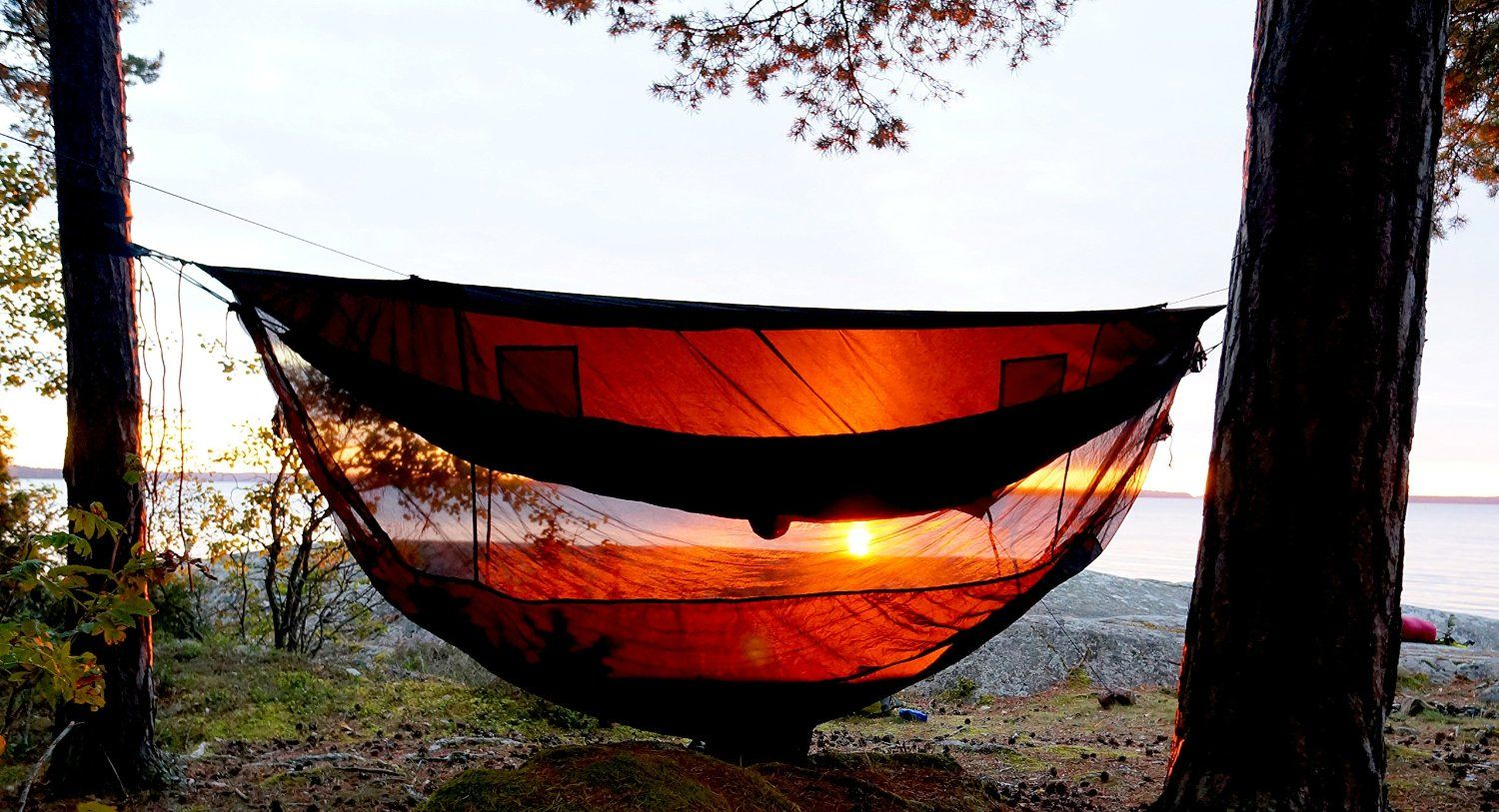 Amazon.com  Hammock Bliss Sky Tent 2 - A Revolutionary Tent For 1 or : hammock tent amazon - memphite.com