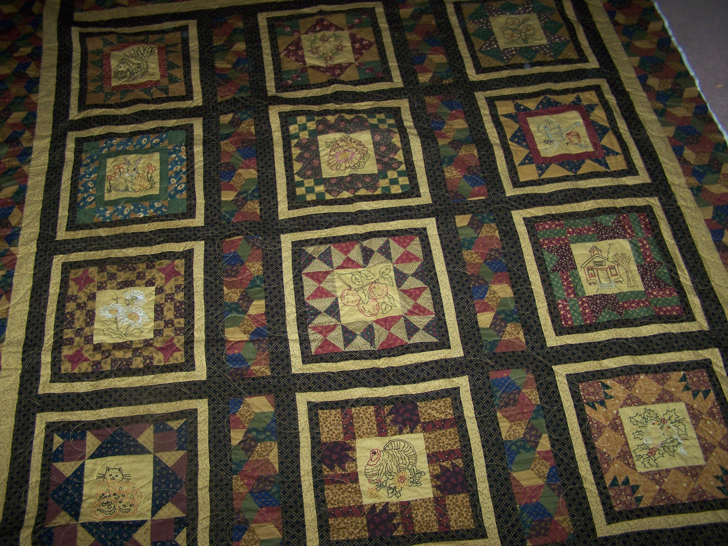 2006 Thimbleberries Block of the Month.