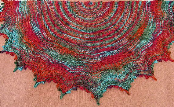 Gypsy Laceyour First Knitted Lace Shawl With By Knittydebby 399