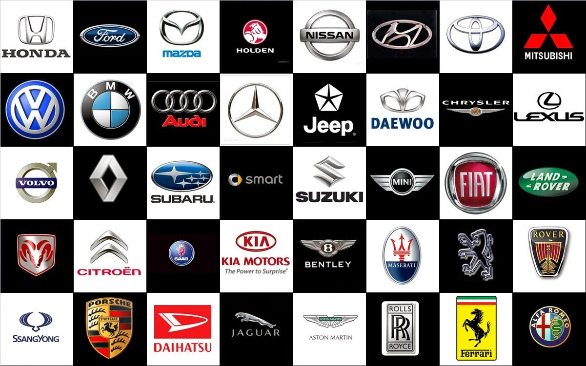 Amazing Cars Brand Logos Images With Names Logotipos de