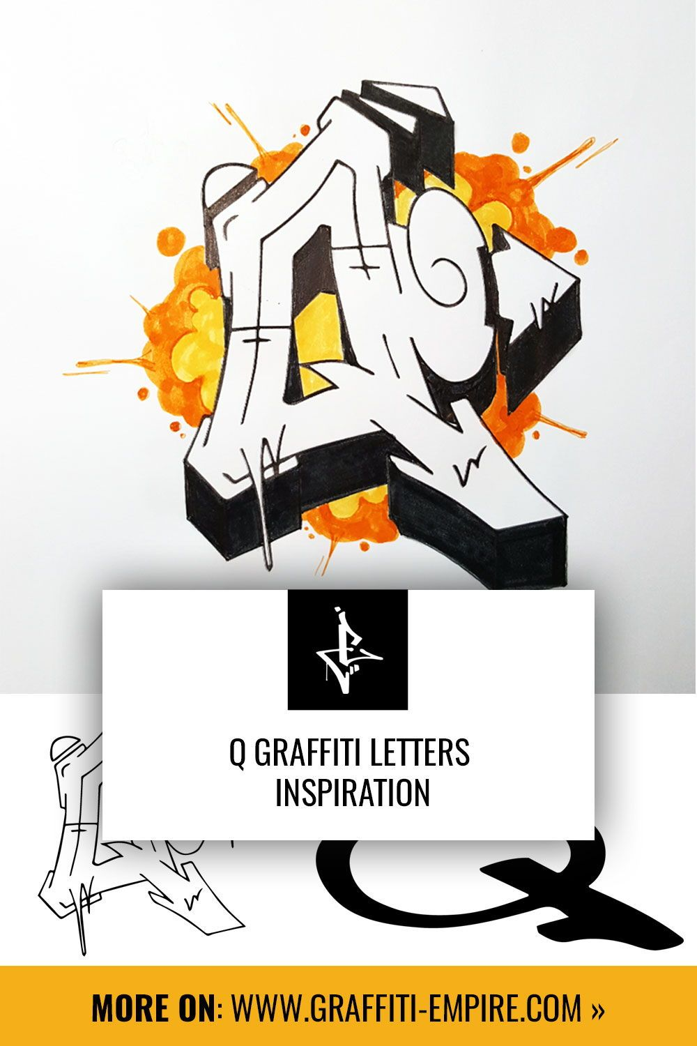 Graffiti Letter Q [images] in different styles in 2020