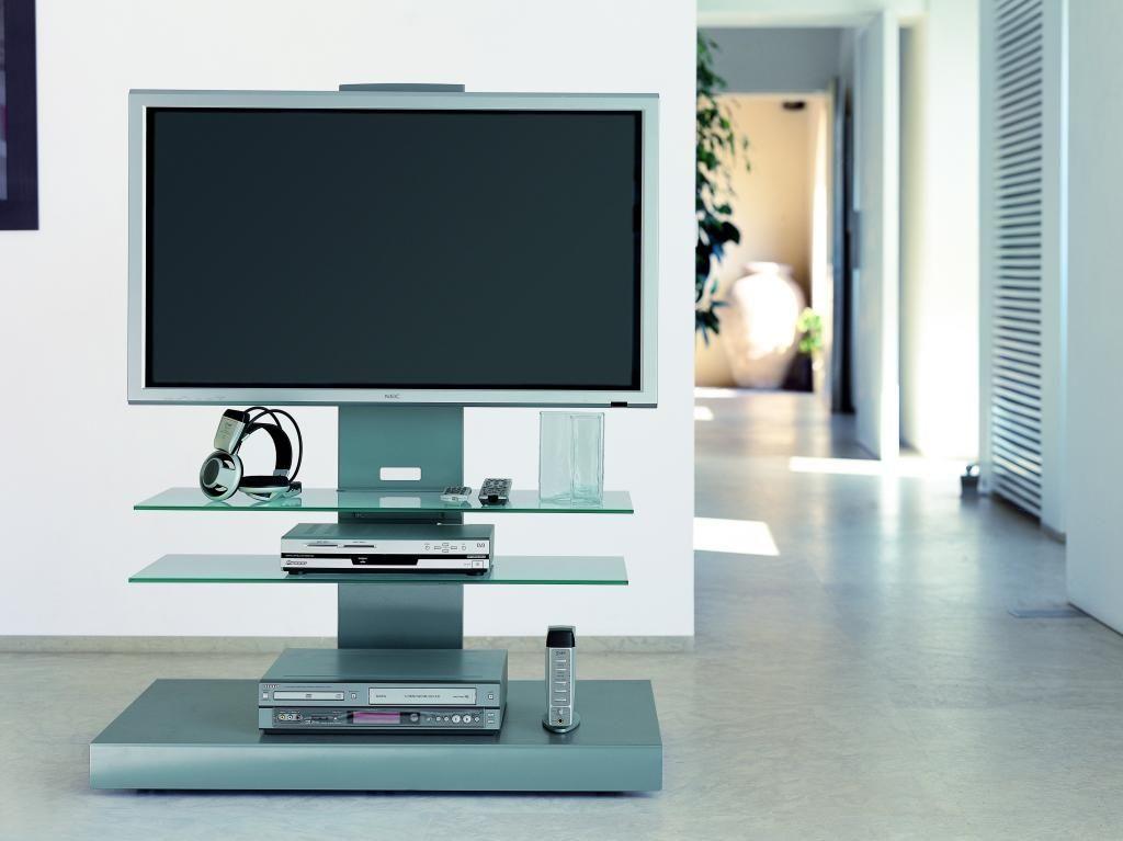 Carrelli Porta Tv Lcd.Carrello Porta Televisore Con Ripiani Titan Porta Tv Nel