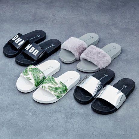 4dacb93803 Primark moda feminina moda mulher calçado sapatos chinelos chinelos de  piscina
