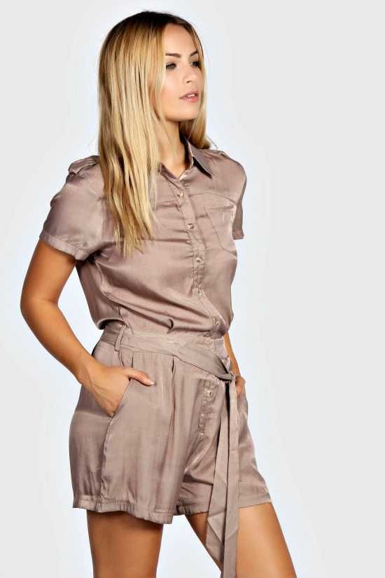 54c7f60bab0 Womens Safari Playsuit - Designer Jumpsuits For Women Jumpsuit Womens  Clothing