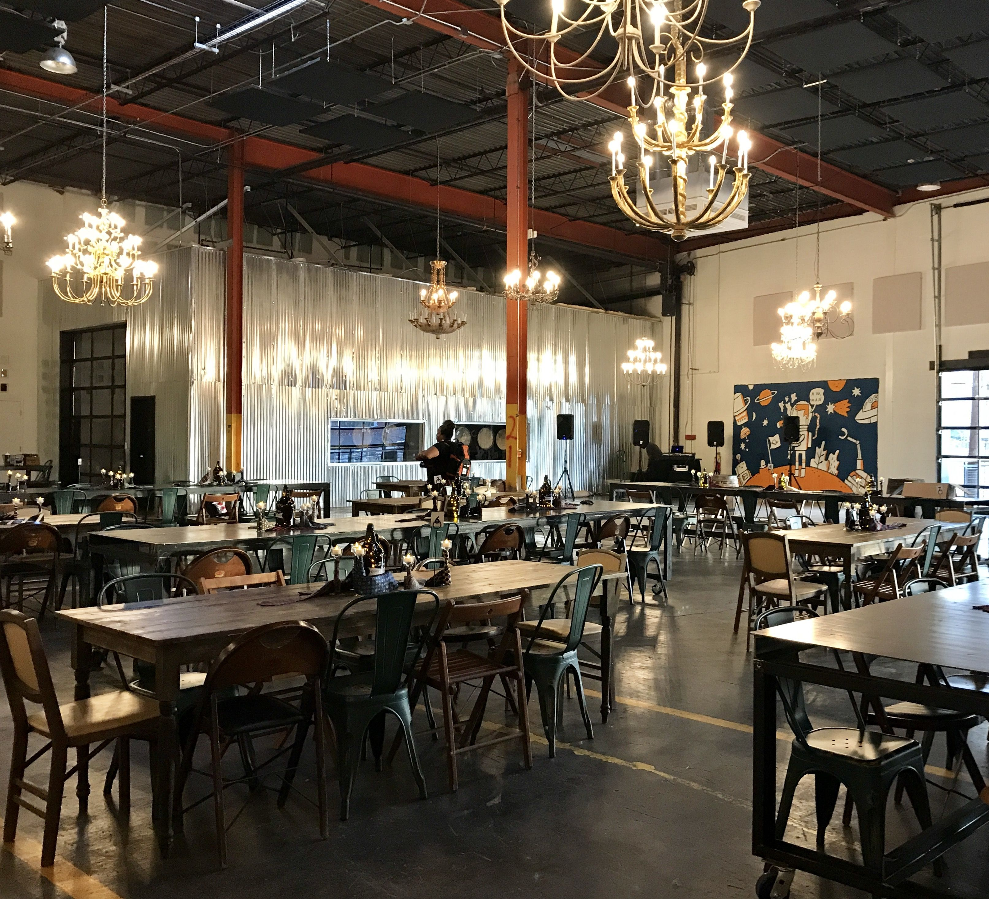Garage Brewing Restaurant The Garage At Monday Night Brewing Great Venue Great Beer