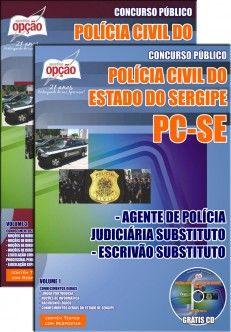 Apostila Concurso Policia Civil Do Estado De Sergipe Pc Se