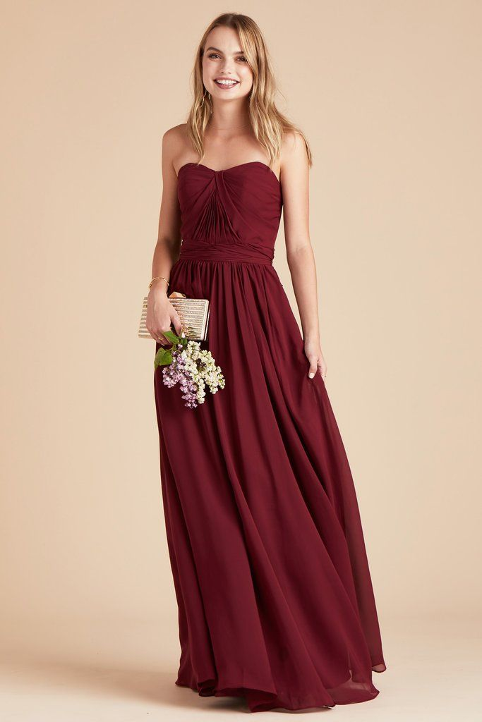 32891a7065f Birdy Grey Bridesmaid Dress Under  100 - Grace Convertible Dress - Pinot  Noir - Burgundy -