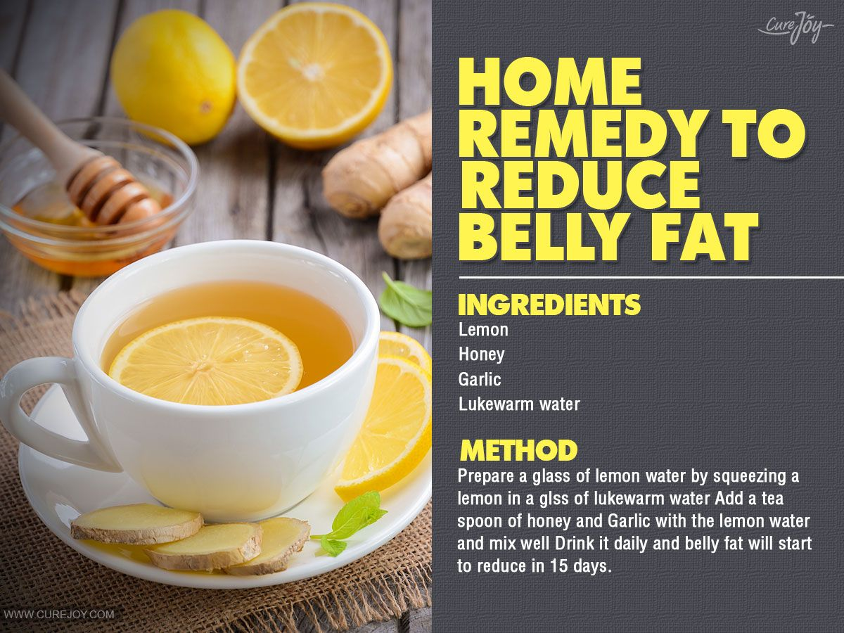 Home Remedy To Reduce Belly Fat Belly Fat Reduce Tummy Fat