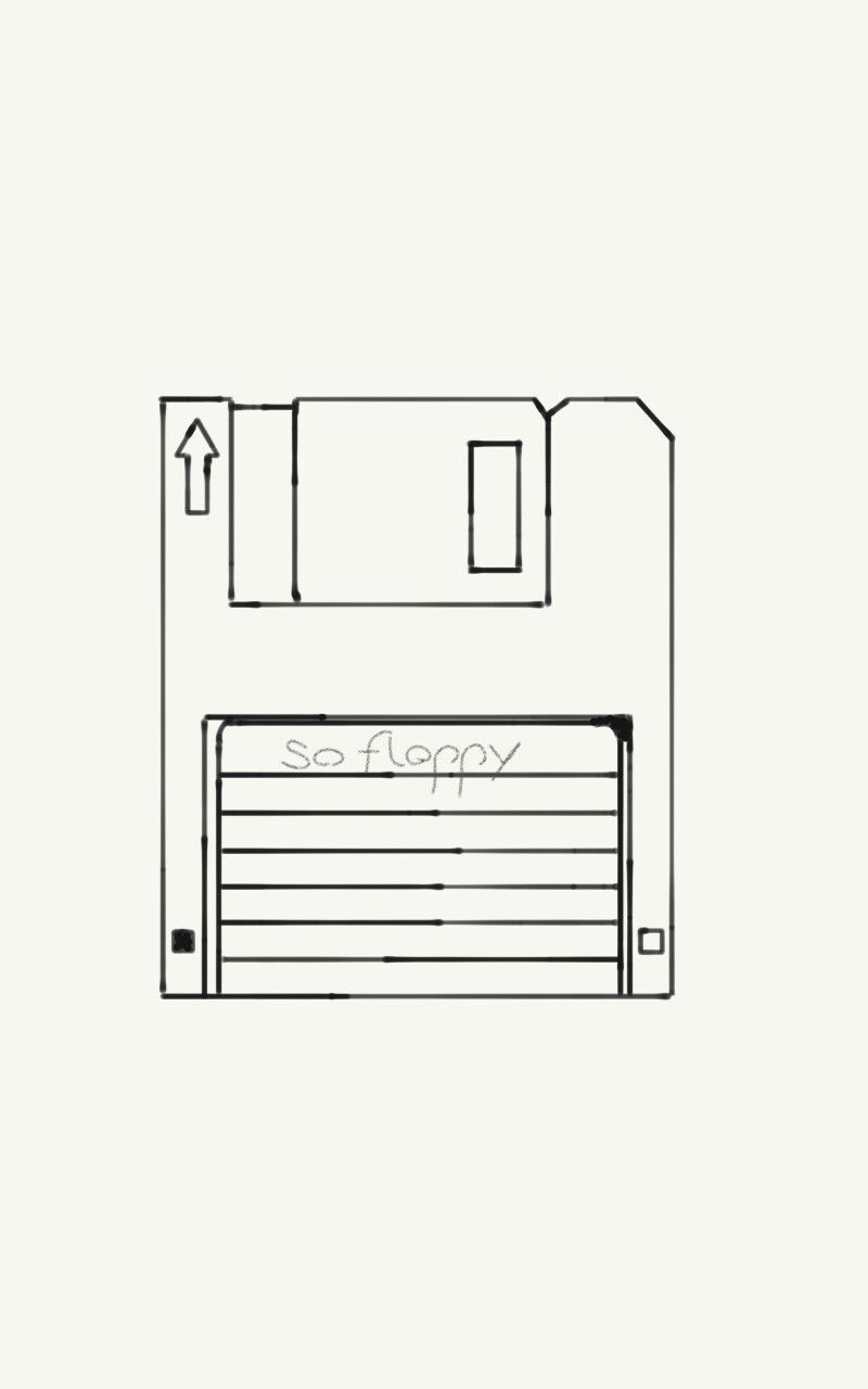 Floppy Disk Made With Adobe Photoshop Sketch Floppy Disk Digi Scrap Photoshop
