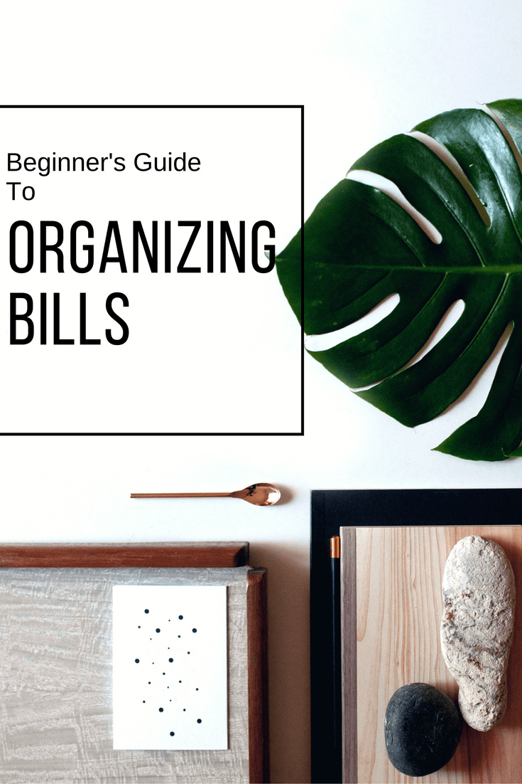 """Beginner's Guide to Organizing Bills is part of Bill Organization For Beginners - Bills  Just the word """"bills"""" sends a shiver down my spine  Unfortunately, they are a necessary evil that keeps the lights on  It is time to stop avoiding bills and […]"""