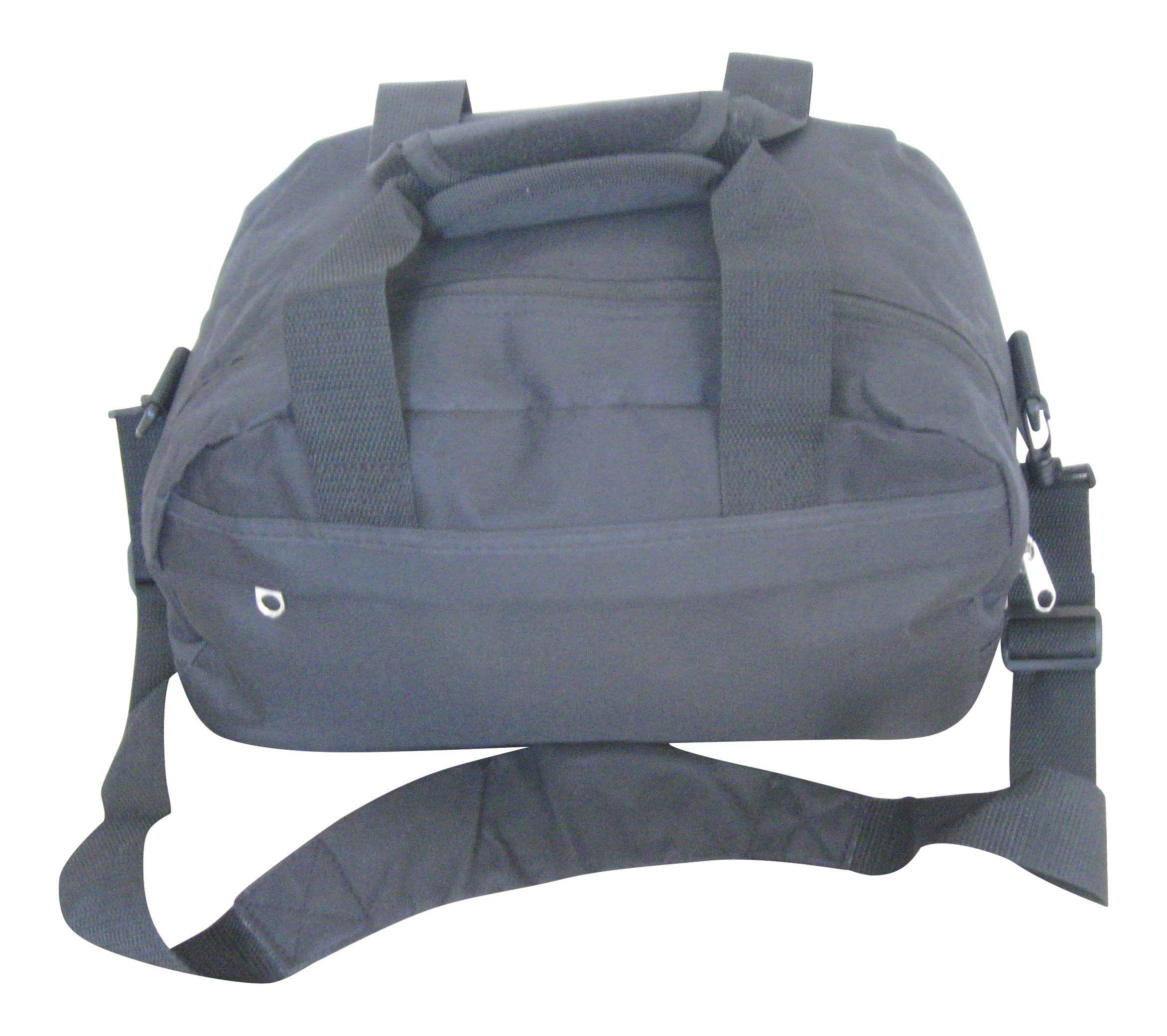 3525e205c9abb Small Black Cabin Hand Luggage Flight Carry on Ryanair 2nd Bag 35 x 20 x 20
