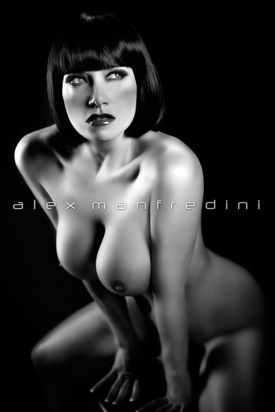 and photography nude white Black glamour