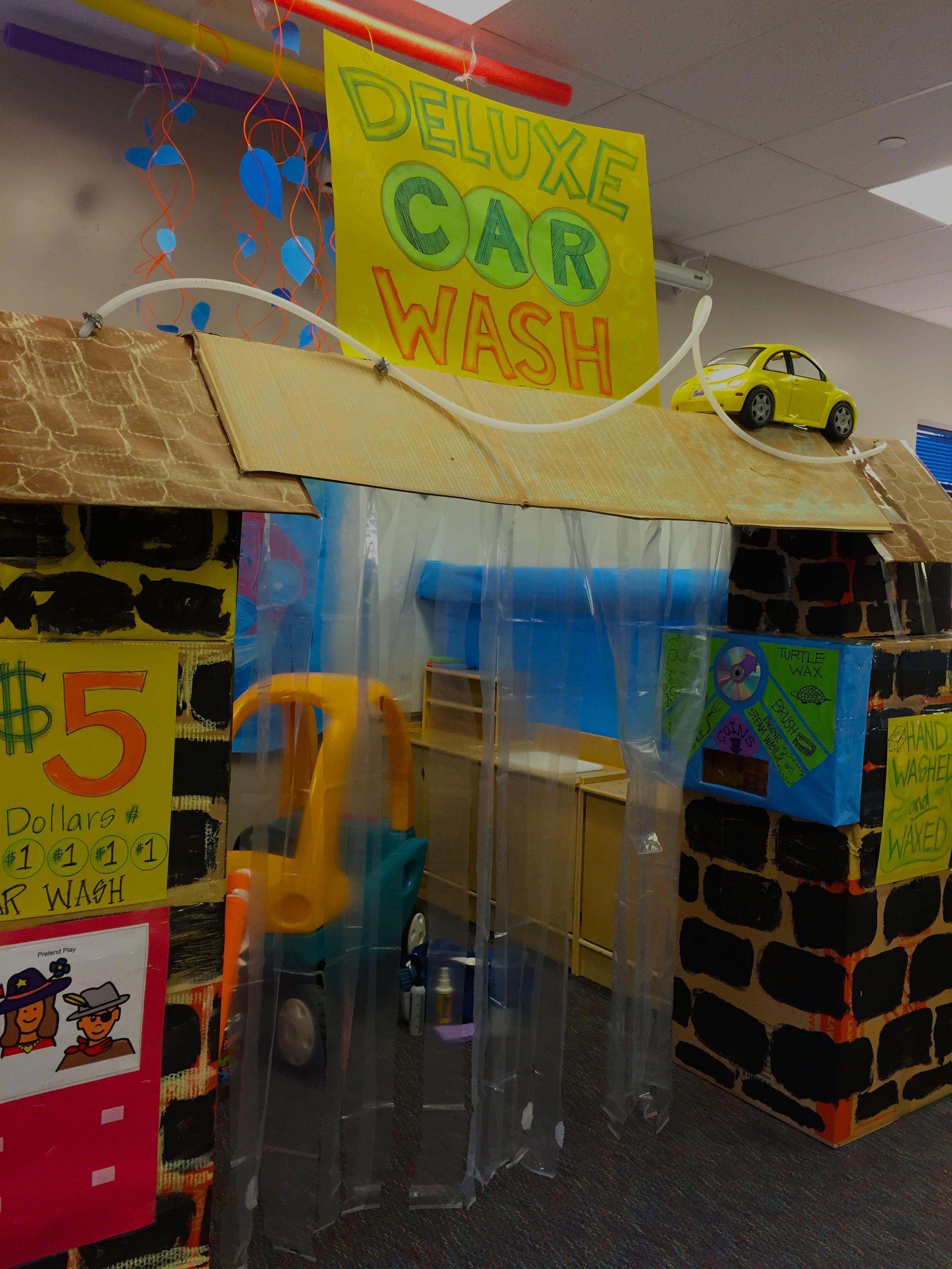Car Wash Dramatic play preschool, Dramatic play centers