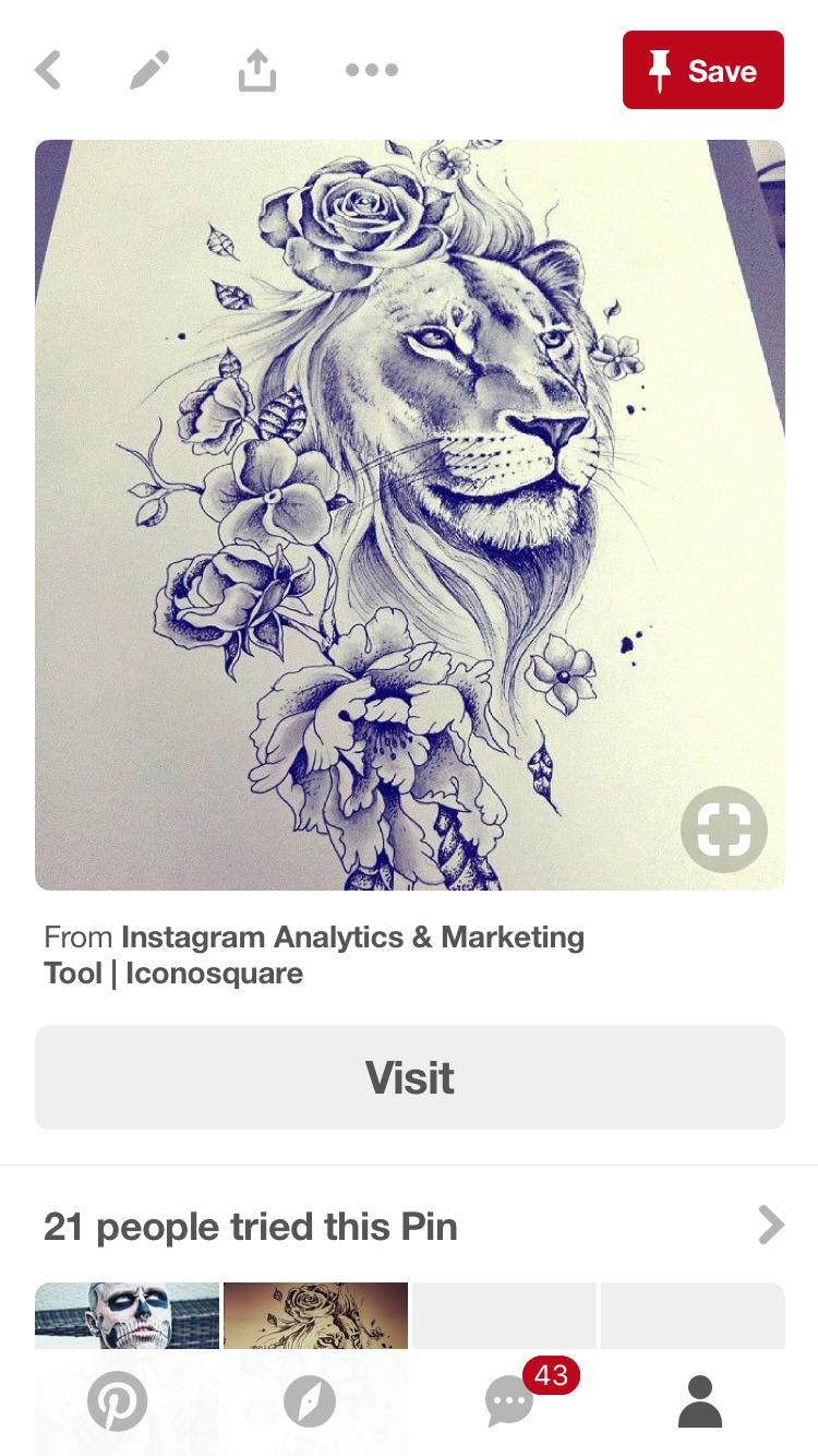 A Beautiful Lion Tattoo By Dc Wolf Tattoos
