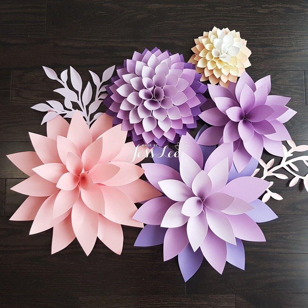цветы из цветной бумаги фото сыр британии, способ