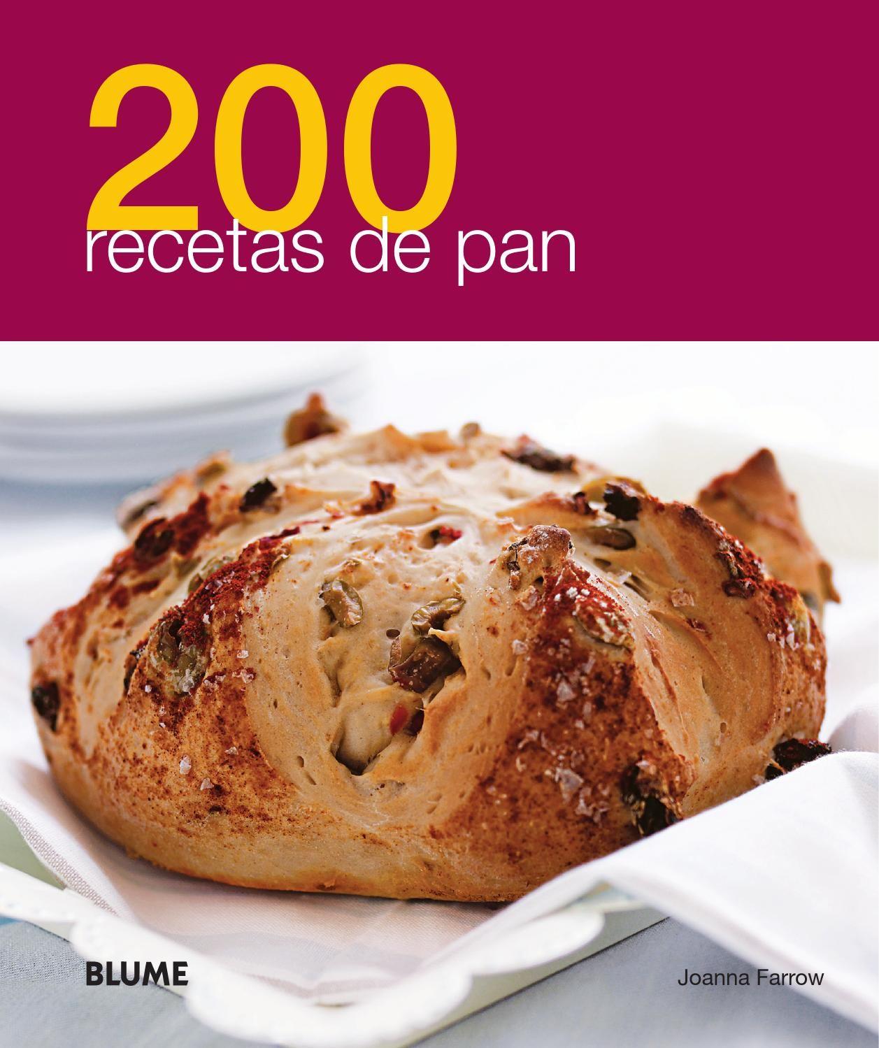 200 recetas pan | pan | Recetas, Recetas de pan y Pan ...
