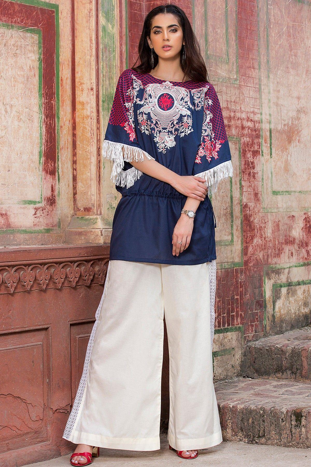 d3c0b78298 Origins Latest Ladies Winter Dresses Designs 2018-2019 Collection ...